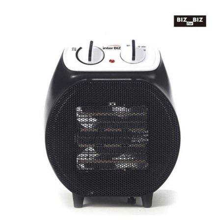 PTC 전기온풍기 + 캠핑겸용/전용가방 (블랙)