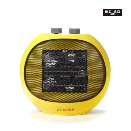 PTC 전기온풍기 (캠핑겸용 + 전용가방) 옐로우