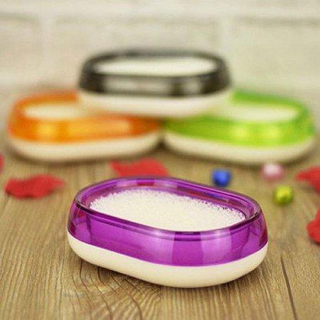 스펀지 비누케이스 Aqua Soap Dish 핑크