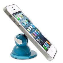스마트폰 거치대 접착식 겔타입 Smart Fix 옐로우