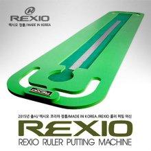 [2016년형]REXIO 렉시오 숏퍼팅향상 롤러 퍼팅 머신(37X183cm)+EVA패드+쇠자