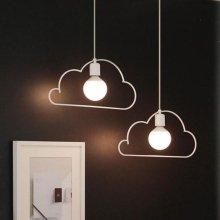 LED 구름1등 펜던트 - 2color 화이트-주광색(하얀빛)