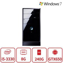 블랙에디션 게이밍 데스크탑 T2A시리즈 (코어i5-3330/램8G/SSD240G/DVD멀티/지포스GTX650Ti/Win7) 리퍼