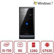블랙에디션 게이밍 데스크탑 P20시리즈 (인텔 코어i5 750-2.66GHz/램8G/SSD128G/DVD멀티/지포스GT630/Window7 64비트) 리퍼