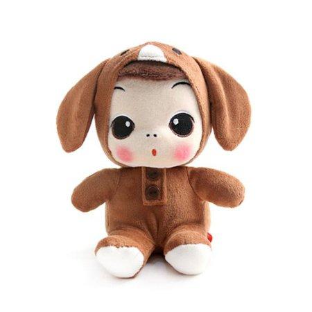X판매종료X 동물 봉제인형-강아지(18cm)