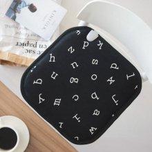 알파벳 전기방석 (1인용)