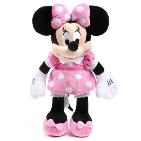 X판매종료X 디즈니 미니마우스 인형-25cm(핑크)