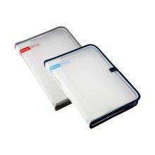 심플한 사무용품 디자인스냅화일 케이스 39106 블루