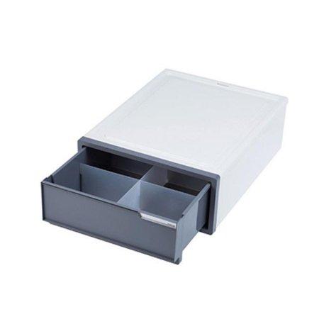 심플한 사무용품 서랍장 소형 칸막이 68050p 그레이