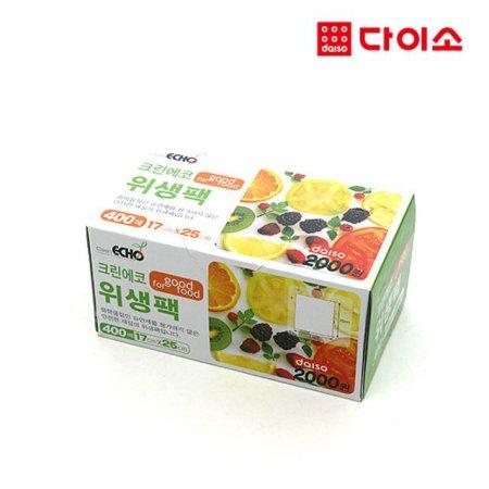 10041_ 크린에코위생팩(소)400매-45790