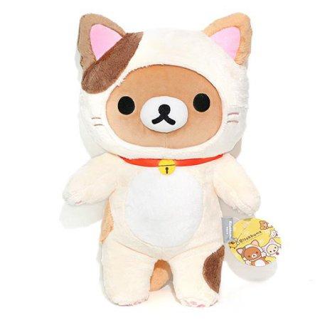 X판매종료X 고양이 리락쿠마 인형 (35cm)