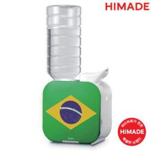 보틀형 가습기 HM-BHU16F03 [브라질 / PET&생수병가능 / 초음파방식 / 분무구 방향조절가능 / 알림기능 / 분무량 조절가능 / 무드램프]