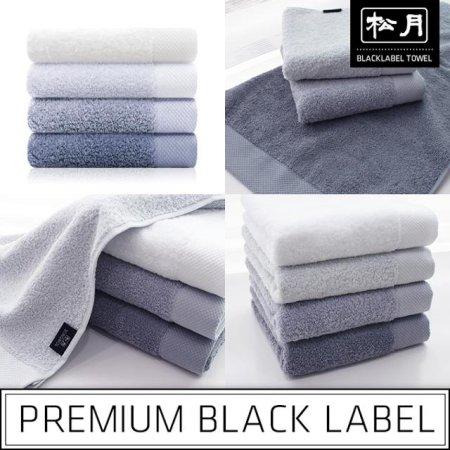 40수 블랙라벨-모노그레이라인 세면타올 회색