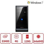 블랙에디션 데스크탑 P15시리즈 (인텔 코어2듀오 E8400/램4G/SSD128G/Intel Graphics/DVD롬/Window7 64/복원) 리퍼