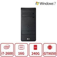 엑스피온 게이밍 데스크탑 B5시리즈 (인텔 코어i7-2600/16G/SSD240/지포스GTX650/DVD멀티/Windos7 64/복원) 리퍼