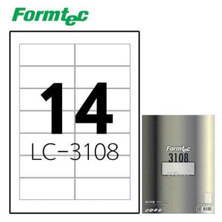 레이저 반투명 라벨 LC-3108 10매입
