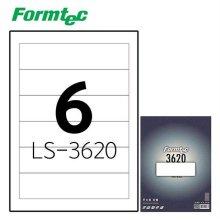 레이저잉크젯 라벨 LS-3620 100매입