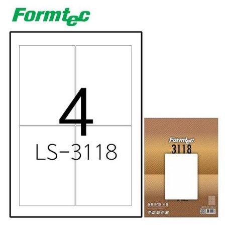 레이저잉크젯 라벨LS-3118 100매입