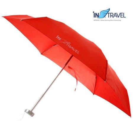 초경량 여행용3단우산 (레드)