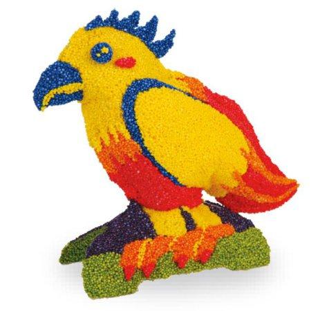 볼클레이 새 만들기 - 왕관앵무새 1개