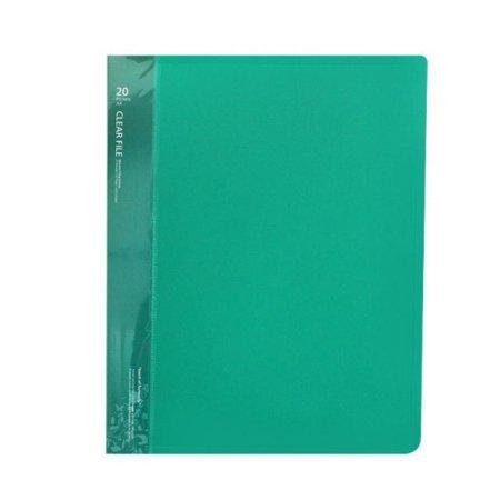 클리어화일 _10P (A4:녹색) 1개