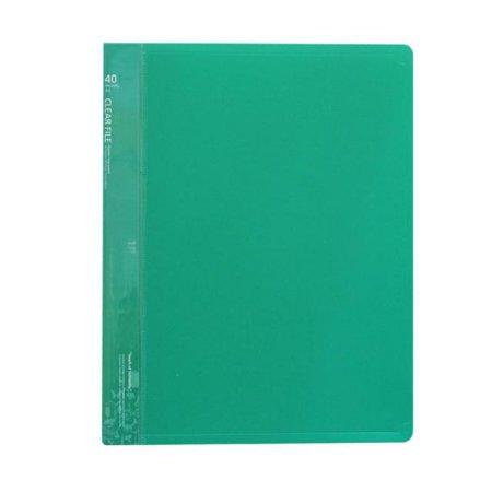클리어화일 _40P (A4:녹색) 1개