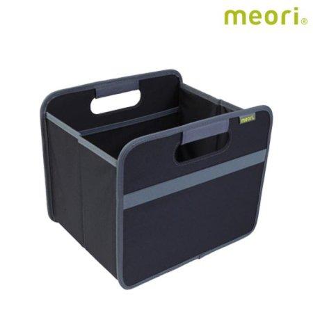 폴더형수납박스(S) MEORI-A100025 [ 블랙 / 접어서 보관 가능 / 방수, 방염 / 스펀지로 세척 가능 ]