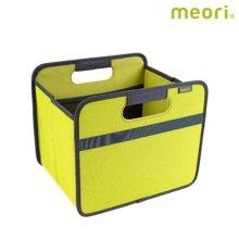 폴더형수납박스(S) MEORI-A100060 [ 라임 / 접어서 보관 가능 / 방수, 방염 / 스펀지로 세척 가능 ]