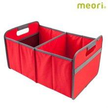 폴더형수납박스(L) MEORI-A100019 [ 레드 / 접어서 보관 가능 / 방수, 방염 / 스펀지로 세척 가능 ]