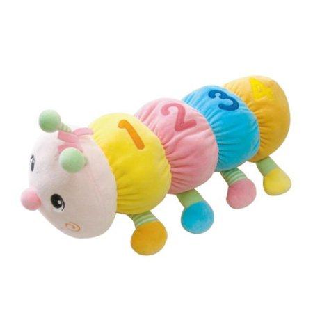 유아 놀이완구&촉각자극 애벌레 인형(소) 1개