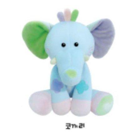 유아용 감성완구 영유아인형_동물인형(대)_코끼리 1개 [하이마트]