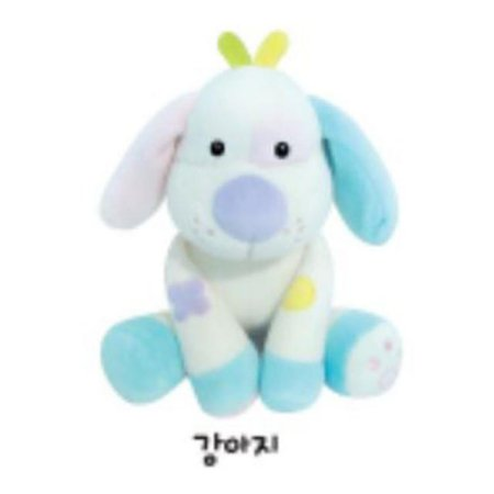 유아용 감성완구 영유아인형_동물인형(소)_강아지 1개 [하이마트]
