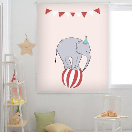 코끼리 서커스단 :암막 125x190