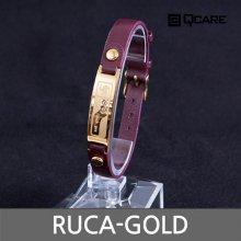 티타늄 루카 게르마늄팔찌 RUCA-GOLD (M 16.5~21.5cm/10g)