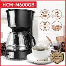 커피메이커 HCM-M600GB [600ml(4~6잔) / 물수위표시 / 전원표시등]