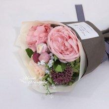 캐비지 핑크 꽃다발 S1201704