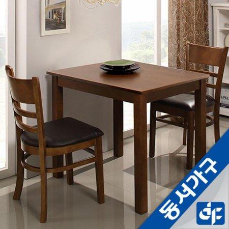 케빈 2인용 식탁테이블(의자미포함) DF629499