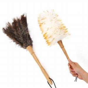 네이쳐 먼지털이개 2가지 타입 (양모/타조깃털)