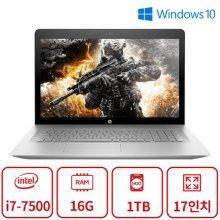 게이밍 노트북 M시리즈 (코어i7-7500/16G/1TB/GT940MX/DVD멀티/17인치/Win10) 리퍼