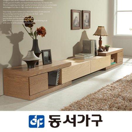 YJH오크콤비 3000확장형 익스텐션 거실장