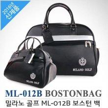 [고급레자-국내産]밀라노골프 ML-012B 보스턴백 블랙