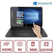 4세대 쿼드코어 터치 노트북 파빌리온15 F2시리즈 [N3540 / 4GB / 500GB]