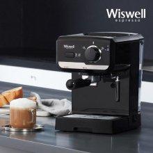 WC2300 에스프레소 커피머신 블랙 단품