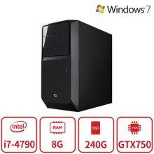 게이밍 데스크탑 DC35시리즈 [4세대 i7-4790 / 8GB / SSD 240GB / GTX750]