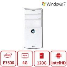 화이트에디션 데스크탑 B15시리즈 [2세대 올프데일 E7500 / 4GB / SSD120GB]