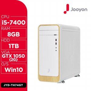 우드 PC 게이밍 데스크탑 JYD-TH74GT [7세대 i5-7400 / 8GB / HDD 1TB / GTX 1050 2GB ]