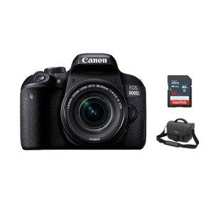 DSLR 카메라 EOS-800D [ 블랙 / 본체+18-55mm IS STM  ] [ 16GB메모리+가방 증정]