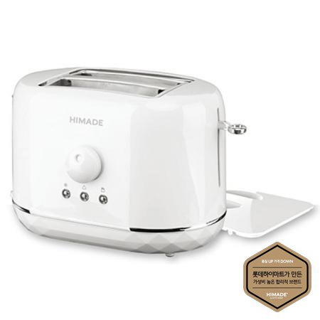 토스터 HTT-HV870W [730W / 스테인레스 / 6단계 온도조절 / 먼지방지 뚜껑]