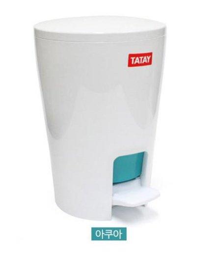 XXX단종XXX디아블로 페달 5L 휴지통(아쿠아)