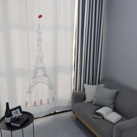 에펠탑 암막 커튼